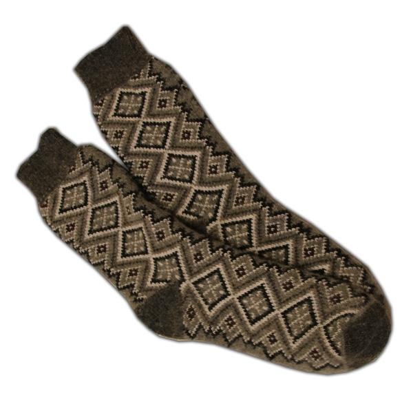 Носки ромбики