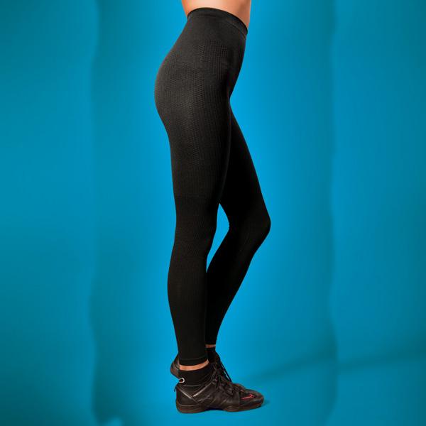 брюки антицеллюлитные  «фитнес» 128 (черный)