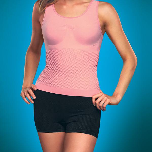 майка антицеллюлитная «фитнес» 136 (розовая)