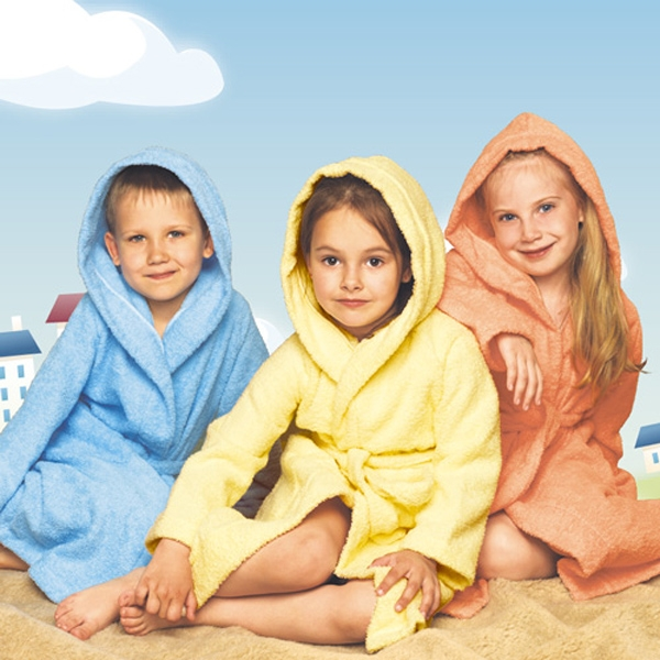 халат детский махровый 204-206 (голубой)