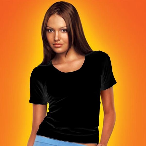 майка футболка черная