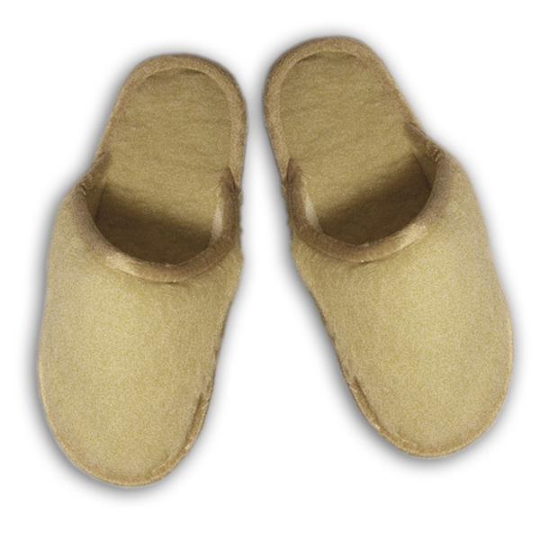 """тапочки из овечьего меха """"golden wool"""" 279 (натуральный)"""