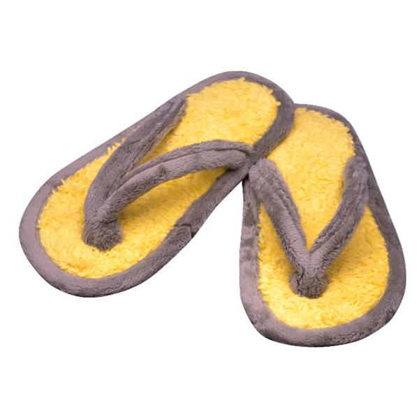 тапочки из хлопка и велюра 317 (мимоза)
