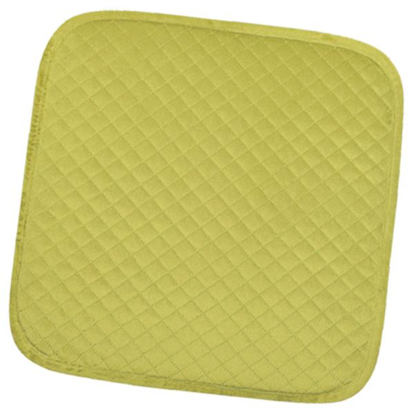 сидушка (мини-коврик) из велюра 357 (салатовый)