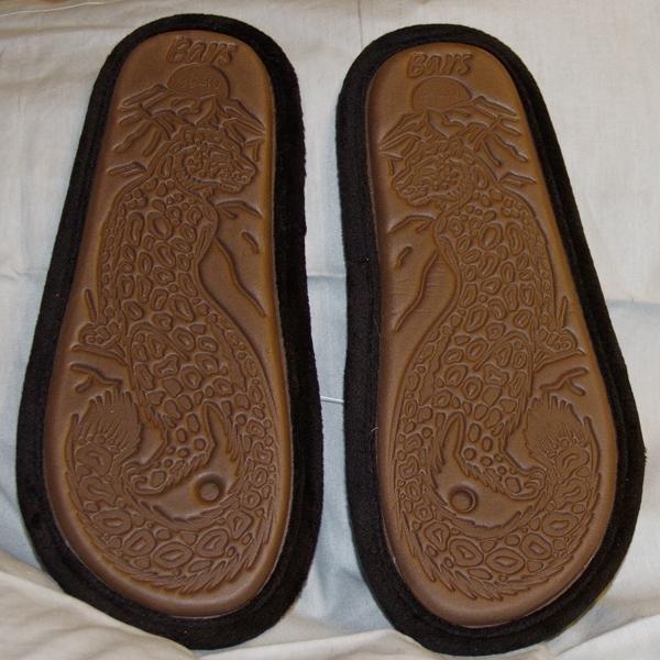 тапочки из велюра чернокоричневые 406 подошва