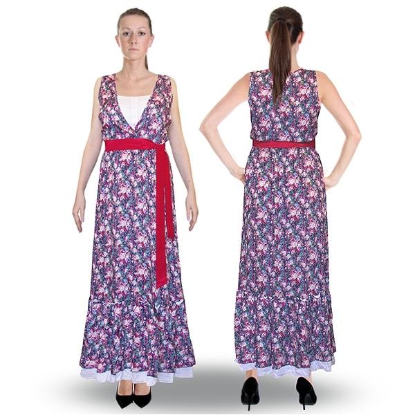 сарафан «фиалка» женский трикотаж 4561