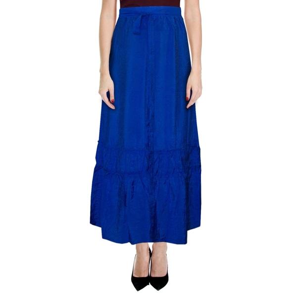 длинная юбка «индиго» женский трикотаж 4654