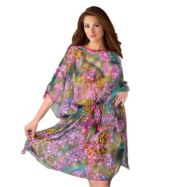 туника «малибу» женский трикотаж 476 (фиолетовый)