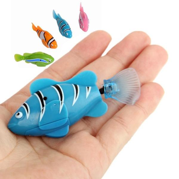игрушка - роборыбка i7001 (голубой)
