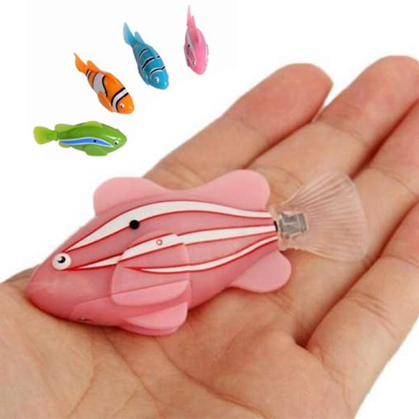 игрушка - роборыбка i7001 (розовый)
