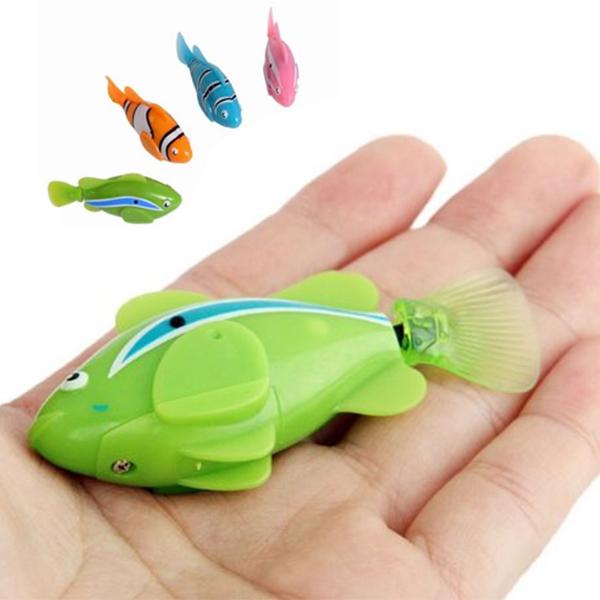 игрушка - роборыбка i7001 (зеленый)