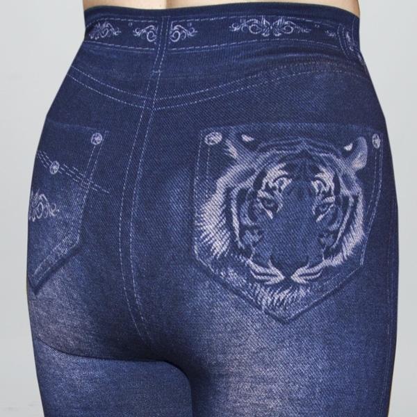 Джеггинсы теплые Tiger фото сзади