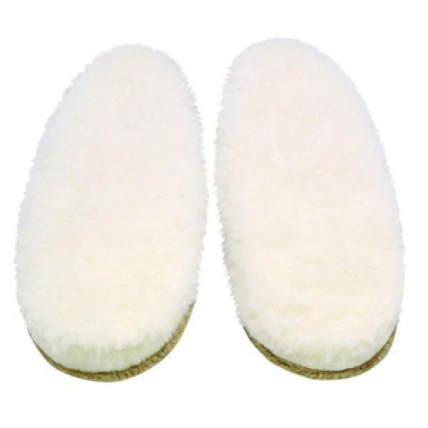 тапочки-чуни из овечьей шерсти 152 (белый)