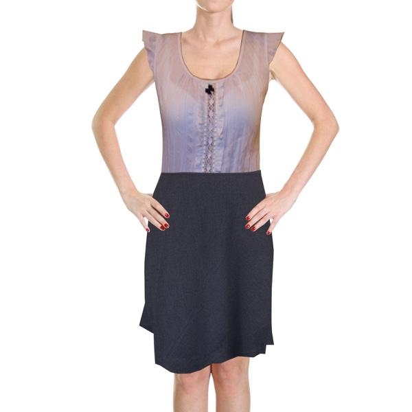 юбка с шерстью «фантазия» женский трикотаж Э30410 (серый)