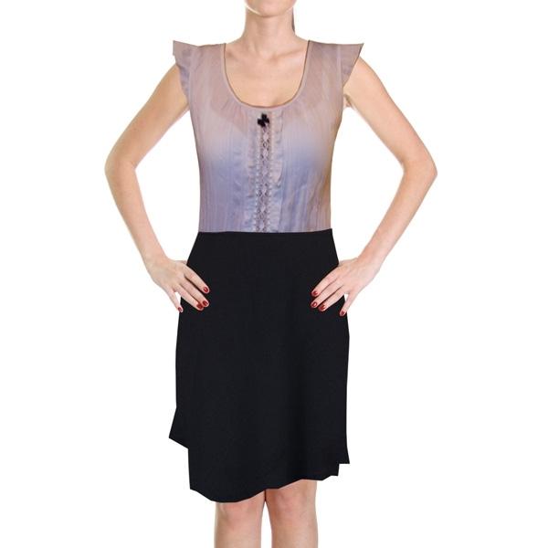 юбка с шерстью «фантазия» женский трикотаж Э30410 (черный)