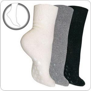 Антискользящие тёплые носки  из ангоры и овечьей шерсти