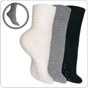 Антискользящие теплые носки из ангоры и овечьей шерсти