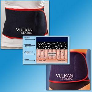 пояс для похудения «vulkan classic» extralong 155 (110)