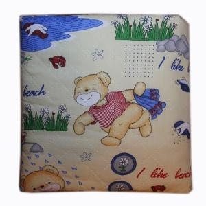 Одеяло-конверт из овечьей шерсти