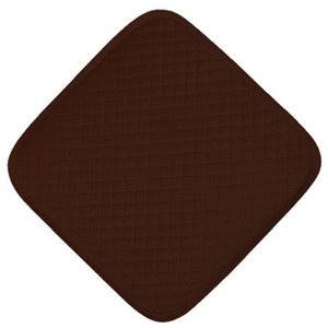 сидушка (мини-коврик) из велюра 357 (коричневый)