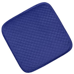 сидушка (мини-коврик) из велюра 357 (синий)
