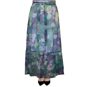 длинная юбка «бриз» женский трикотаж 4622