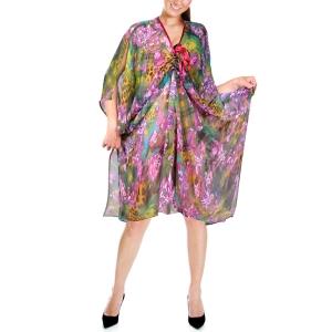 туника  «тропикана» женский трикотаж 475 (фиолетовый)