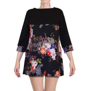 блуза «флора» женский трикотаж 903