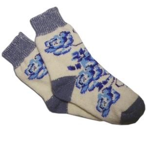 «ГЖЕЛЬ» Вязаные шерстяные носки