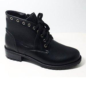 Ботинки осенние из кожи DON GEO (черный)